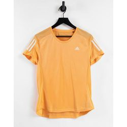 Adidas Running - T-shirt à 3bandes - adidas performance - Modalova
