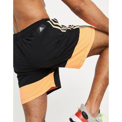 Adidas Training - Short color block- et orange - adidas performance - Modalova