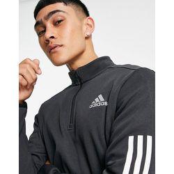 Adidas Training - Sweat-shirt à col zippé et 3 bandes - adidas performance - Modalova