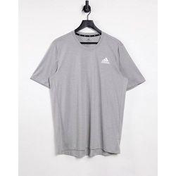 Adidas Training - T-shirt à logo - Gris chiné - adidas performance - Modalova