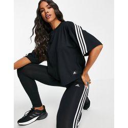 Adidas Training - T-shirt coupe carrée à trois bandes - adidas performance - Modalova