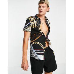 Chemise à imprimé foulard - Another Influence - Modalova