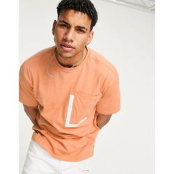 T-shirt à poche carrée - Orange - Another Influence - Modalova