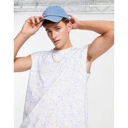 T-shirt sans manches façon débardeur effet tie-dye - Another Influence - Modalova