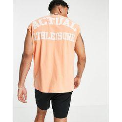 Débardeur oversize avec logo Athleisure devant et au dos - ASOS Actual - Modalova