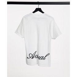 T-shirt avec logo imprimé sur le devant et dans le dos - ASOS Actual - Modalova