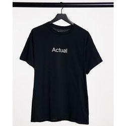ASOS - Actual - T-shirt avec logo imprimé sur le devant - ASOS Actual - Modalova