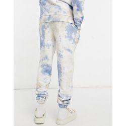 ASOS Daysocial - Jogger à logo imprimé effet tie-dye (pièce d'ensemble) - et bleu - ASOS Day Social - Modalova