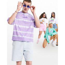 ASOS - Daysocial - T-shirt oversize effet tie-dye - et bleu délavé - ASOS Day Social - Modalova