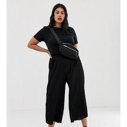 ASOS DESIGN Curve - Pantalon plissé style jupe-culotte - ASOS Curve - Modalova