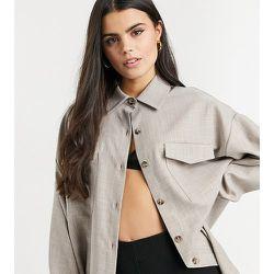 ASOS DESIGN Petite - Veste chemise de costume texturée - ASOS Petite - Modalova