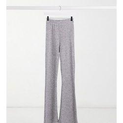 ASOS DESIGN Tall - Pantalon évasé ultra doux - chiné - ASOS Tall - Modalova