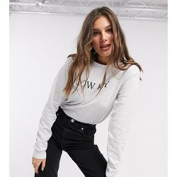 ASOS DESIGN Tall - Sweat-shirt à inscription « Low Key » - chiné - ASOS Tall - Modalova