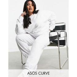 ASOS - Weekend Collective - Sweat-shirt oversize d'ensemble avec logo brodé ton sur ton - ASOS Weekend Collective - Modalova