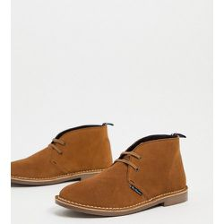 Desert boots en daim - Tabac - Ben Sherman - Modalova
