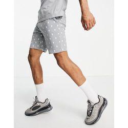 Bolongaro Trevor - Pyjama court avec short à motif tête de mort - Bolongaro Trevor Sport - Modalova