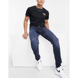 Jean slim fuselé - délavé foncé - Calvin Klein Jeans - Modalova