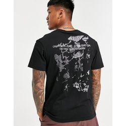 T-shirt à imprimé reptile au dos - Calvin Klein Jeans - Modalova