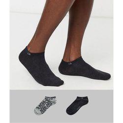 Lot de 2 paires de chaussettes de sport à logo - Calvin Klein - Modalova