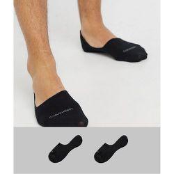 Lot de 2 paires de chaussettes invisibles - Calvin Klein - Modalova