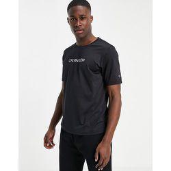 Performance - T-shirt de course avec logo centré - Calvin Klein - Modalova