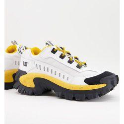 Caterpillar - Intruder Vent - Baskets à bords orange - , noir et jaune - Cat Footwear - Modalova