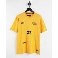 Caterpillar - T-shirt à imprimé machine - Cat Footwear - Modalova