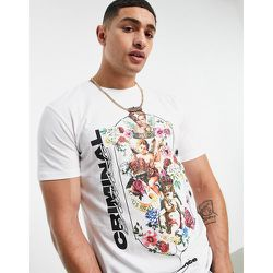 T-shirt à motif chérubins - Criminal Damage - Modalova