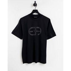 T-shirt à grand logo sur la poitrine - Emporio Armani - Modalova