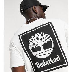 Exclusivité ASOS - - Back Stack - T-shirt - Blanc - Timberland - Modalova