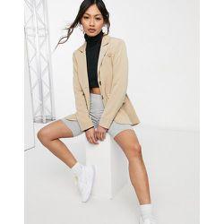 Blazer long décontracté d'ensemble avec poche - Fashion Union - Modalova