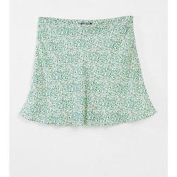 Flippy - Mini-jupe à fleurs - menthe - Fashion Union Plus - Modalova