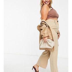 Pantalon habillé évasé d'ensemble à taille haute - Fashion Union Plus - Modalova