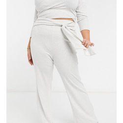 Pantalon large d'ensemble noué sur le devant - Fashion Union Plus - Modalova