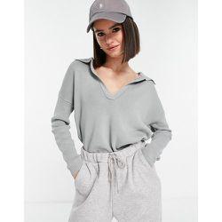 Pull côtelé d'ensemble à large encolure - Fashion Union - Modalova