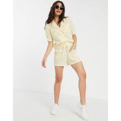 Short d'ensemble ample à rayures - Fashion Union - Modalova