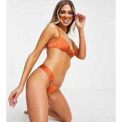 Haut de bikini à armatures avec anneau - Rouille métallisé - Free Society - Modalova