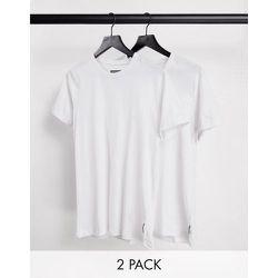 Lot de 2 t-shirts ras de cou - French Connection - Modalova