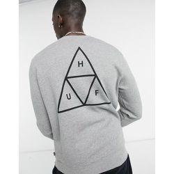 Essentials - Sweat-shirt à imprimé trois triangles - HUF - Modalova