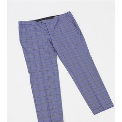 Plus - Premium - Pantalon habillé à carreaux coupe ultra slim - jack & jones - Modalova