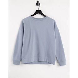 Line - Sweat-shirt à manches longues et col ras de cou - foncé - JDY - Modalova