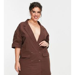Lola May Plus - Robe blazer courte - Lola May Curve - Modalova