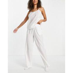 Mix and Match - Pantalon de pyjama en crépon de coton - Loungeable - Modalova