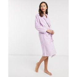 Robe de chambre à col châle - Lilas - Loungeable - Modalova