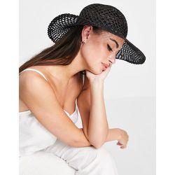 Mango - Chapeau d'été - Noir - Mango - Modalova