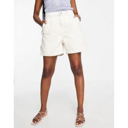 Mango - Short en jean ample - Blanc - Mango - Modalova