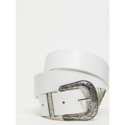 My Accessories London Curve - Exclusivité - Ceinture pour blazer à double boucle style western - My Accessories Curve - Modalova
