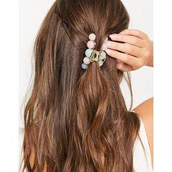 London - Pince à cheveux effet pompons imprimés - My Accessories - Modalova