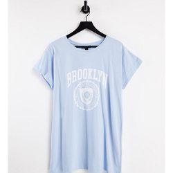 New Look Curve - Brooklyn - T-shirt boyfriend - clair - New Look Plus - Modalova