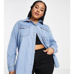 New Look Curve - Chemise en jean - moyen - New Look Plus - Modalova